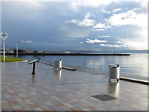 NS2982 : Helensburgh seafront by Thomas Nugent