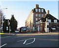 ST1672 : Entrance to Llandough Hospital, Llandough by Jaggery