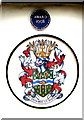 SO9063 : Wychavon Coat of Arms on a Droitwich building by Jaggery