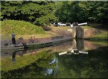 SO8685 : Stourton Bottom Lock No 20 by Mat Fascione