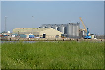 TF6120 : Grain Silos by N Chadwick
