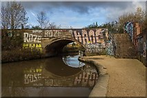 SJ8297 : Cornbrook Bridge by Peter McDermott