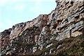 NC2733 : Creag Ruadh quartzite by Jim Barton