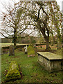 NZ0712 : Graveyard at St. Mary's Church by Trevor Littlewood