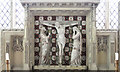 TL3669 : St Andrew, Swavesey - Reredos by John Salmon