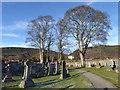 NO3997 : Tullich Kirkyard by Stanley Howe
