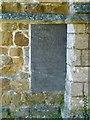 SK7222 : Slate gravestone, St James's Church, Ab Kettleby by Alan Murray-Rust