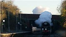TQ1649 : No.34046 'Braunton' by Peter Trimming