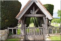 TQ5045 : Lych gate, Chiddingstone Cemetery by N Chadwick