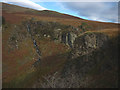 NY1703 : Crags and cascades at the head of Miterdale by Karl and Ali