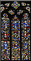 TL1998 : Apse stained glass window, Peterborough Cathedral by Julian P Guffogg