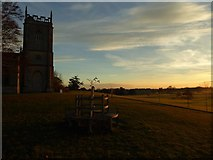 SO8845 : Croome on a November afternoon by Philip Halling