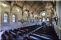 SK8572 : Interior, St Helen's church, Thorney by Julian P Guffogg