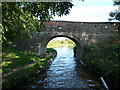 SJ4434 : Lyneal Lane Bridge [No 51], from the west by Christine Johnstone