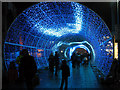 TG2208 : The Tunnel of Light on Hay Hill (blue sequence 4) by Evelyn Simak