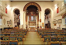 TQ1068 : St Mary, Sunbury-on-Thames - East end by John Salmon