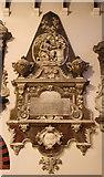 TQ1068 : St Mary, Sunbury-on-Thames - Wall monument by John Salmon
