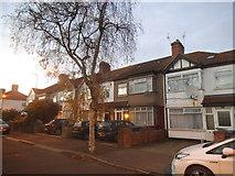 TQ2087 : Queensbury Road, Kingsbury by David Howard