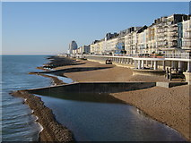 TQ8109 : St Leonards beach by Oast House Archive