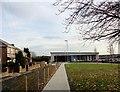 NZ1051 : Path down to Consett Leisure Centre by Robert Graham