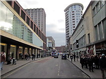 ST5973 : Bristol City Centre Looking Towards Lower Castle Street by Roy Hughes