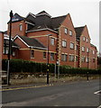 SO9669 : West side of the Travelodge Hotel, Bromsgrove by Jaggery