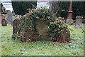 NM8629 : Grave stones, Kilmore & Oban Church, Oban by Ian S