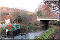 SP8213 : A winter view of Bridge 18 on the Aylesbury Canal by Chris Reynolds