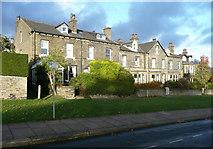 SE0823 : Houses on Manor Heath Road, Skircoat, Halifax by Humphrey Bolton