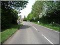 TL6356 : Brinkley Road (B1061) by JThomas
