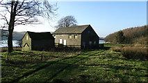 SJ9775 : Former Hooleyhey Farm above Lamaload Reservoir by Colin Park