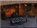 SP0686 : Table tennis: Birmingham Library by Stephen McKay