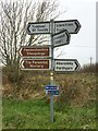 SM8030 : Crossroads Signpost by Alan Hughes