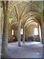 TQ7415 : Vaulting in Battle Abbey by Philip Halling