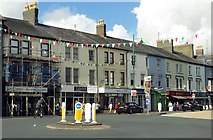 SH5638 : High Street in Porthmadog by Steve Daniels