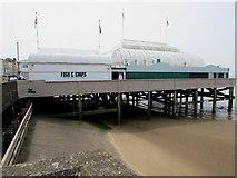 ST3049 : Britain's shortest pier, Burnham-on-Sea  by Jaggery