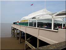 ST3049 : South side of the pier, Burnham-on-Sea by Jaggery