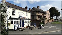 SO8483 : Kinver - The Cross Inn by Colin Park