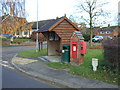 SP4384 : George V postbox on Main Street, Withybrook by JThomas