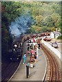 SH6441 : Tan-y-Bwlch station by Robin Drayton