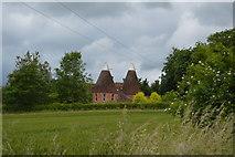 TQ5247 : Wickhurst Oast by N Chadwick