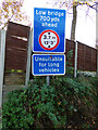 TG0723 : Roadsigns on Brick Kiln Lane by Adrian Cable