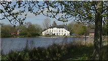 SJ7744 : Madeley Mill & Pond, Staffs by Colin Park