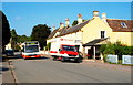 ST8082 : Local Bus Service, High St, Badminton, Gloucestershire 2011 by Ray Bird