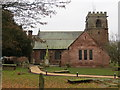 SJ4858 : The Church of St Alban in Tattenhall by Peter Wood