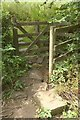 SX0041 : Gate on path to Gorran Haven by Derek Harper