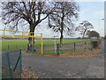 TQ4591 : Entrance to Hainault Recreation Ground by Marathon