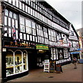 SJ6552 : Crown Mews and Crown Hotel, Nantwich by Jaggery