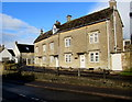 ST8893 : Row of three houses above Charlton Road, Tetbury by Jaggery