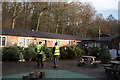 NZ0931 : Christmas tree sales at Hamsterley Forest by Trevor Littlewood